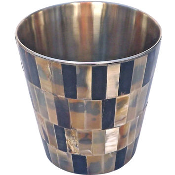 Mosaic Horn Ice Bucket