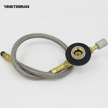 YINGTOUMAN New Gas Stove Adapter Gas Stove Use Household Gas Tank LPG Cylinder Conversion Head Adapter for Outdoor Camping Stove