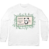 Pandas Against The Patriarchy -- Unisex Long-Sleeve