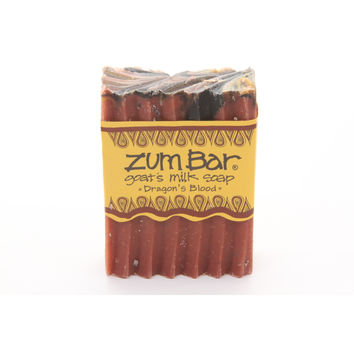Indigo Wild: Zum Bar Goat's Milk Soap, Dragon's Blood 3 oz