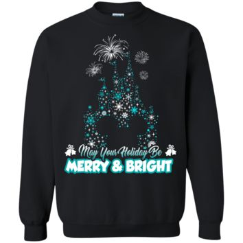 Merry Disney Castle Ugly Christmas Sweater Perfect Christmas Gifts