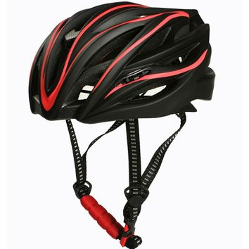 Classic Size M Bicycle tracking racing helmet MTB Cycling road bike sports in-mold safety Helmet M,L 55-62cm Cascos Ciclismo red