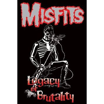 (24x36) MISFITS Legacy of Brutality POSTER DANZIG Horror Punk