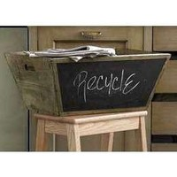 PAPA'S OLD AMERICA CHALKBOARD RECYLE BINS by cheermama72 on Etsy
