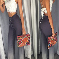 Ombre Print Pants - FINAL SALE