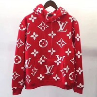 LV Women Hot Hoodie Cute Sweater