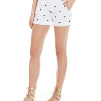 Freestyle Embroidered Stars Shorts | Dillards