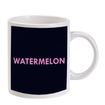 Gift Mugs | Watermelon Beyonce Design Case Ceramic Coffee Mugs