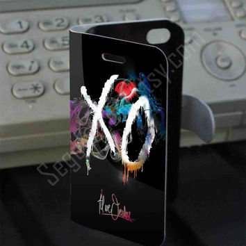 xo wilfe rainbow Leather Folio Case for iPhone and Samsung Galaxy