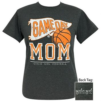 Girlie Girl Originals Preppy Basketball Game Day Mom T-Shirt
