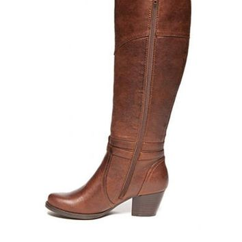Rhodes Brown Tall Boots