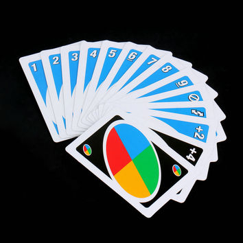 Cards Family Funny Entertainment Board Game UNO