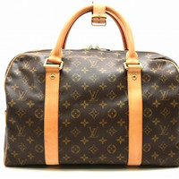 LOUIS VUITTON  Monogram Canvas Carryall Handbag M40074 Auth F/S JAPAN