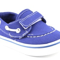 Infant Boys Navig8 Casual Canvas Boat Shoes Joy-25I Royal Blue