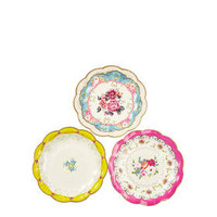 Fancy Cake Paper Plates - Multi