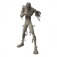 """Universal Monsters: 9"""" Mummy Buried beneath the sands of time he rested, until he was awoken by Mezco's award-winning design team. Now, Mezco proudly presents…The Mummy! This iconic terror from the beneath the sand stands 9"""" tall and captures the intrica –"""