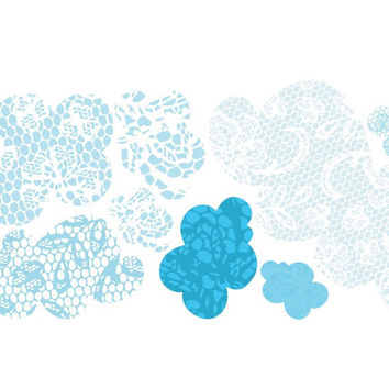 Lacey Cloud Wall Decals