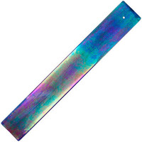 Blue Iridescent Glass - Incense Burner