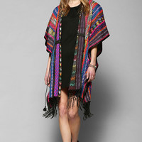 Staring At Stars Road Trip Blanket Poncho - Urban Outfitters