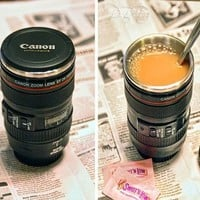Camera lens Cup simulation preventing water leakage
