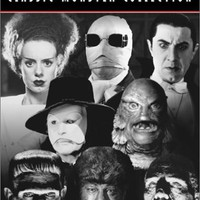 Universal Studios Classic Monster Collection (Dracula/Frankenstein/The Mummy/The Invisible Man/The Bride of Frankenstein/The Wolf Man/Phantom of the Opera/Creature from the Black Lagoon)