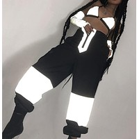3M Reflective High Waisted Trousers