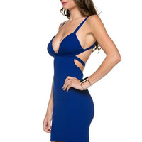 Euphoria Mini Dress - Royal Blue