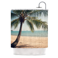 "Catherine McDonald ""Tropic of Capricorn"" Ocean Photography Shower Curtain"