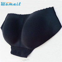Amazing Lady Seamless Briefs Bum Padded Butt Enhancer Hip Up Underwear Panties S-XL Free Shipping