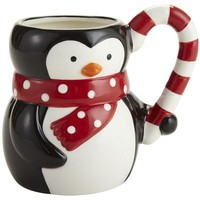 Holiday Penguin Mug