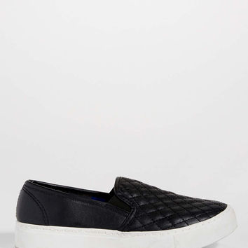 Hope quilted faux leather slip on | maurices