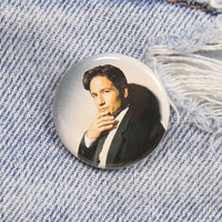 Fox Mulder X-Files 1.25 Inch Pin Back Button Badge