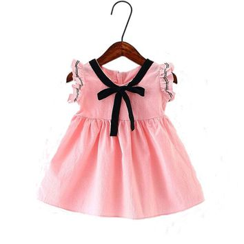 New Summer Baby Girls Tutu Dress Newborn bebe Birthday Party Dresses Lovely Princess dress for Wedding outfit cloth clothing