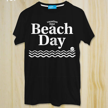 Beach Day / Minimal T-shirt ,Sea T-shirt,Surf,Vacation,Ocean,Friend gift,Typography tees,Friend Tshirt,Teen Shirt,tumblr shirt,Hipster Shirt