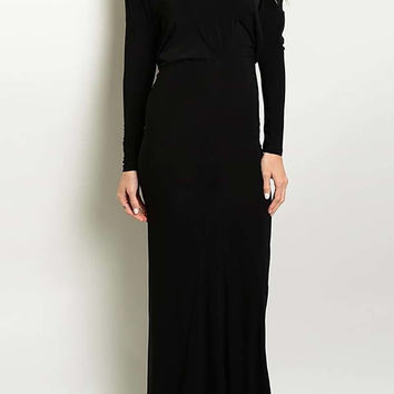 Reversible Maxi Dress (Black)