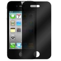 Generic Privacy LCD Screen Protector Film Guard for Apple iPhone 4 - Non-Retail Packaging - Privacy