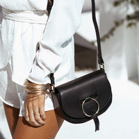 Petite Gold Ring Bag - Accessories by Sabo Skirt