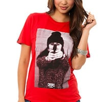 The Pistola Tee in Red