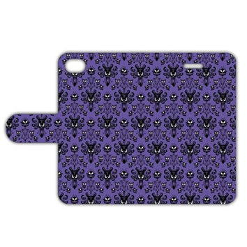 Haunted Mansion Leather Phone Case