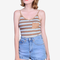 Polly Pocket Striped Tank