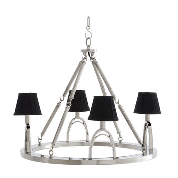 Eichholtz Jigger Chandelier - Nickel