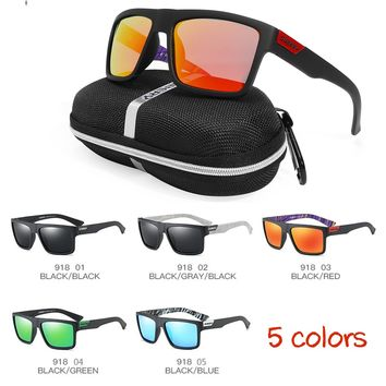 Polarized Sunglasses Anti-Glare Square Cycling Sport Driving Men Women Fishing Sun Glasses Traveling Eyewear with Box