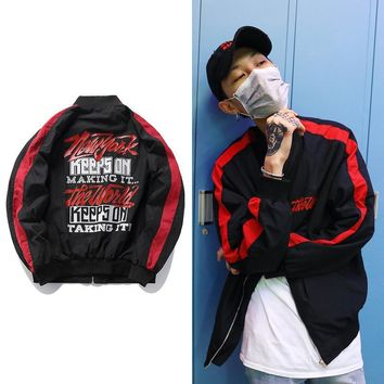 On Sale Sports Hot Deal Jacket Hip-hop Strong Character Fashion Baseball [272617406493]