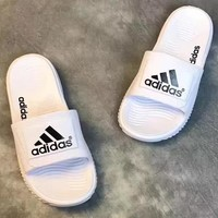 Adidas Fashionable Casual Slippers For Men And Women-4