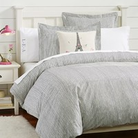 Stripe It Duvet Cover + Sham