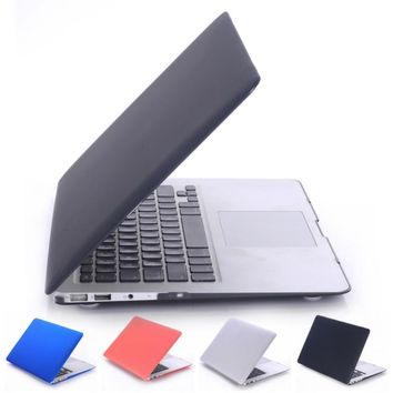 Laptop Case Cover For Apple macbook Air Pro Retina 11 12 13.3 15 inch with Touch Bar + keyboard cover
