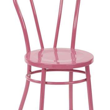 Office Star Pastel Pink Odessa Metal Dining Chair (Set of 2)