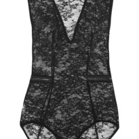 Eres - Luxembourg Mogador stretch-Leavers lace bodysuit