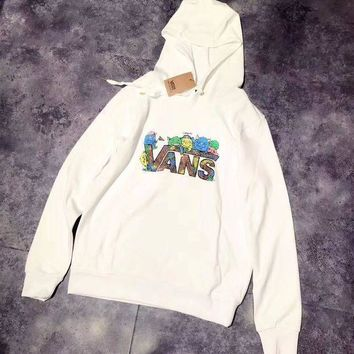 CREYUP0 VANS Fashion Hooded Top Pullover Sweater Sweatshirt Hoodie2