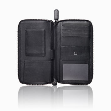 Chassis Double Zip Travel Companion Wallet | dunhill - Official Website